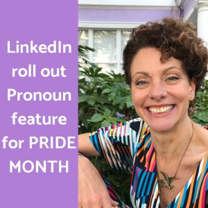 LinkedIn adds pronoun option to personal profiles
