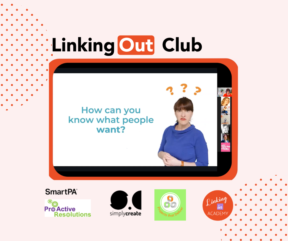June LinkingOut Club with Janine Coombes