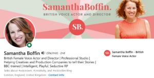 Samantha Boffin LI profilee