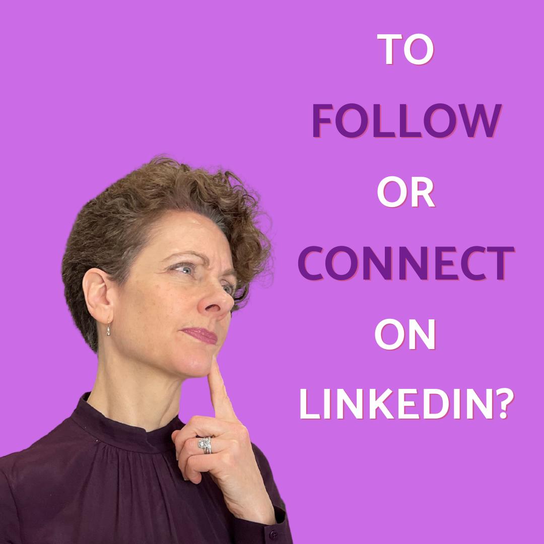 To follow or connect on LinkedIn Blog - Sarah Clay Social