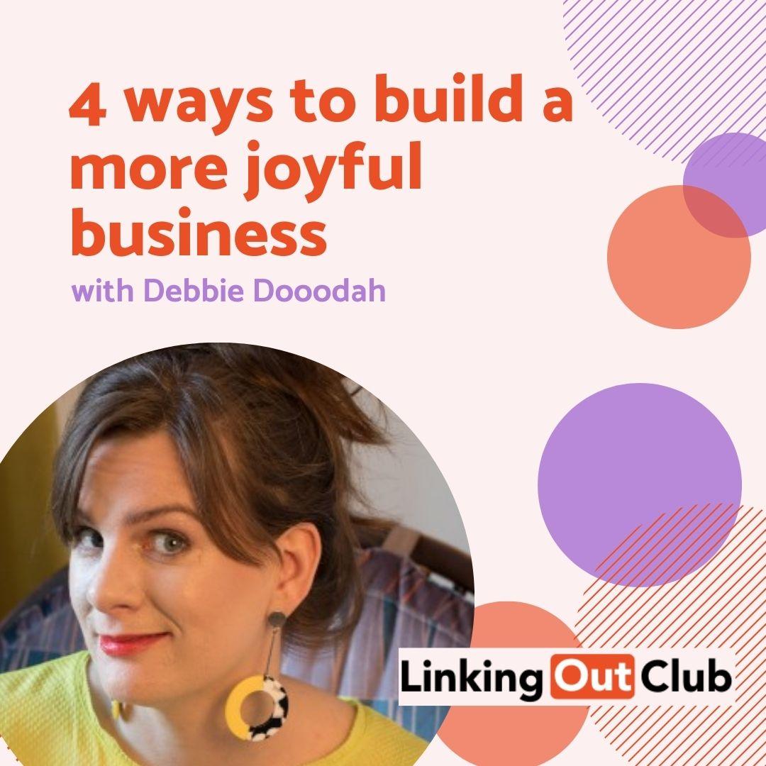 Debbie Dooodah Linking Out Club Blog Image